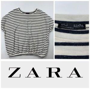 Zara Striped 👚 Shirt